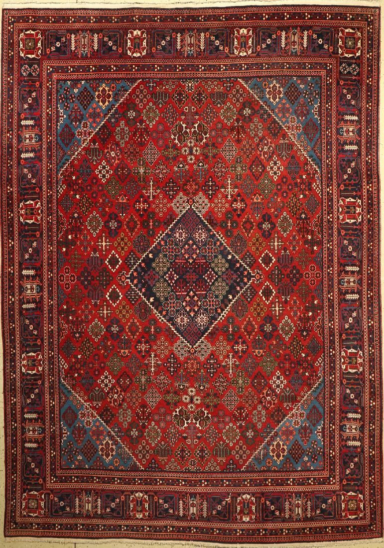 Meymeh old Carpet, Persia, approx. 50 years, wool on
