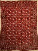 Tekke main Carpet, Turkmenistan, around 1890/1900