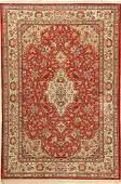 Silk Qum fine Rug, Persia, approx. 40 years, pure