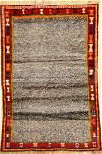 Gaschgai Gabbeh old Rug Persia approx 60 years wool