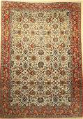 Qum old Carpet Persia approx 50 years woolon cotton