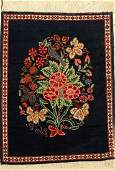 Keschan old Persia around 1930 wool approx 64 x
