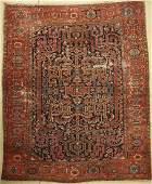 Heriz antique Carpet, Persia, around 1920, wool on