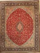 Kerman old Carpet Persia approx 60 years wool on