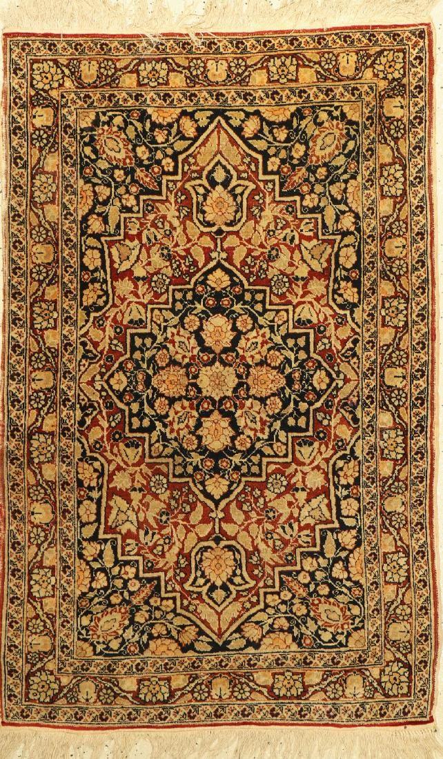 Tabriz old Rug, Persia, around 1920, wool on cotton