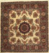 Mud old Rug, Persia, approx. 50 years, wool oncotton