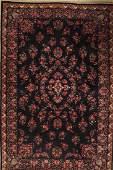 Mashad old Carpet, Persia, around 1950, wool on cotton