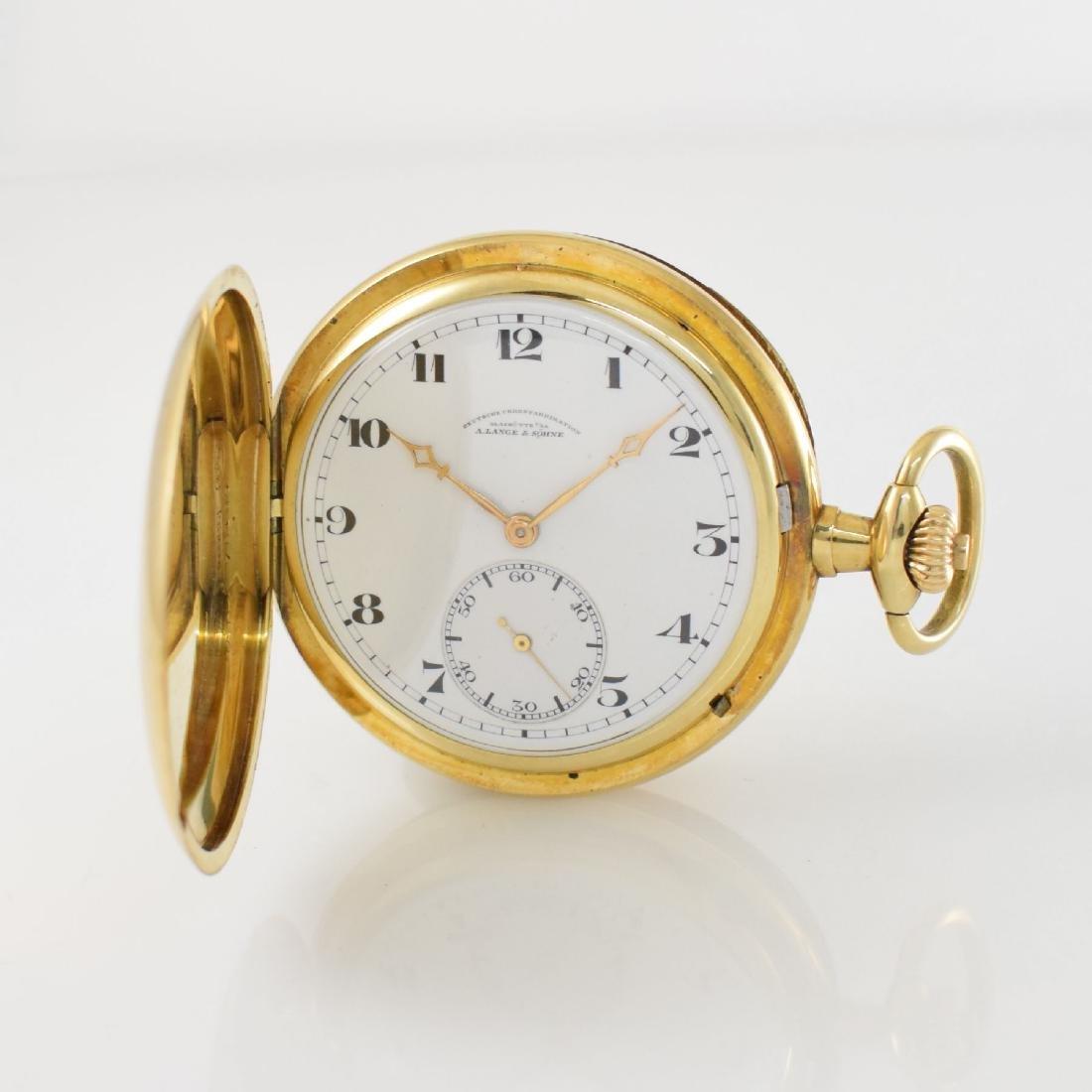 A. LANGE & SÖHNE Deutsche Uhrenfabrikation Glashutte