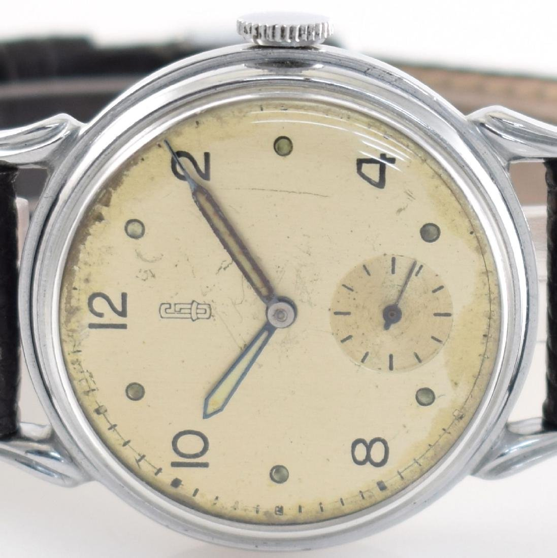 GLASHUTTE rare early gents wristwatch calibre 61 - 2