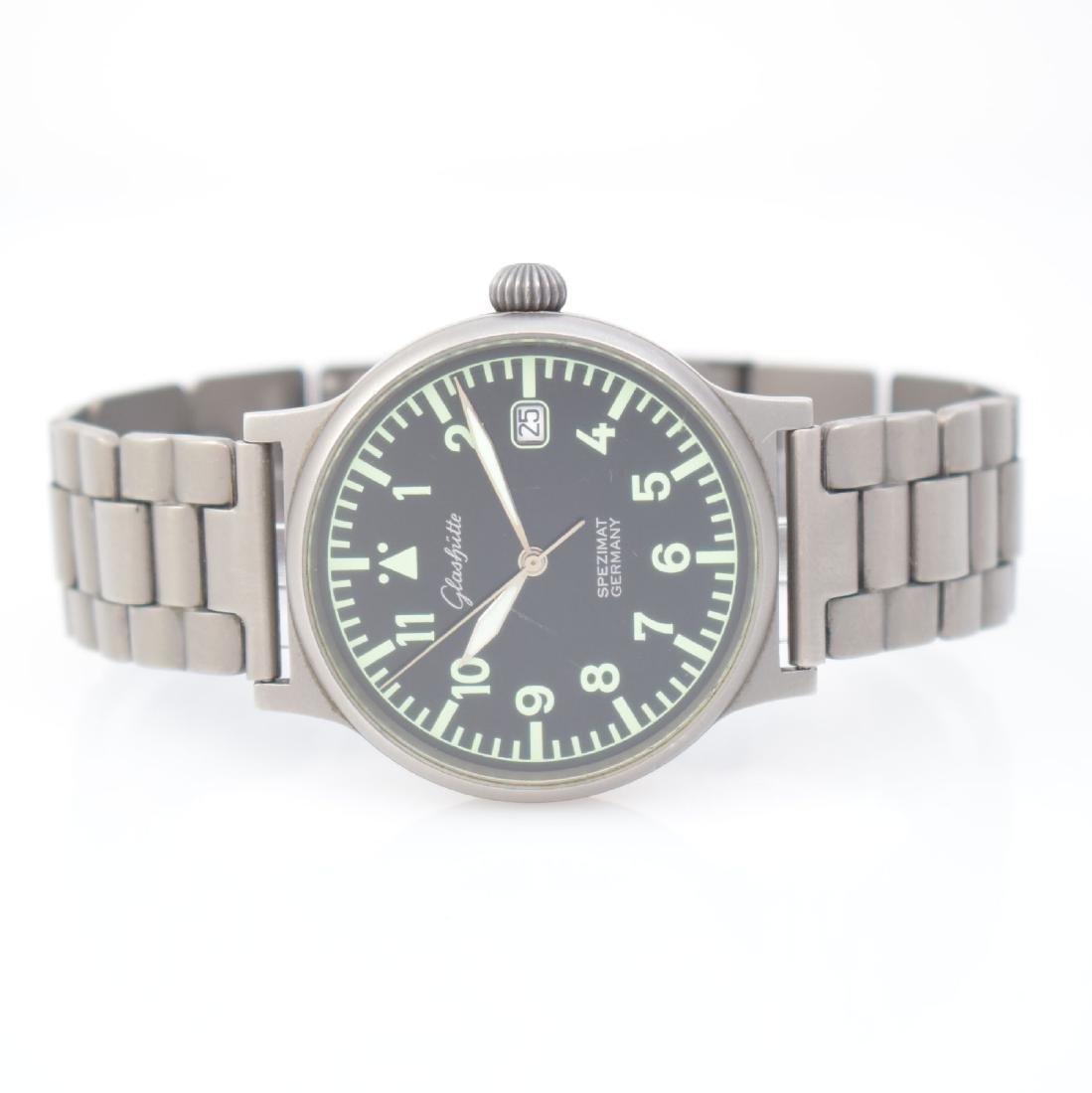 GLASHUTTE self winding gents wristwatch Spezimat