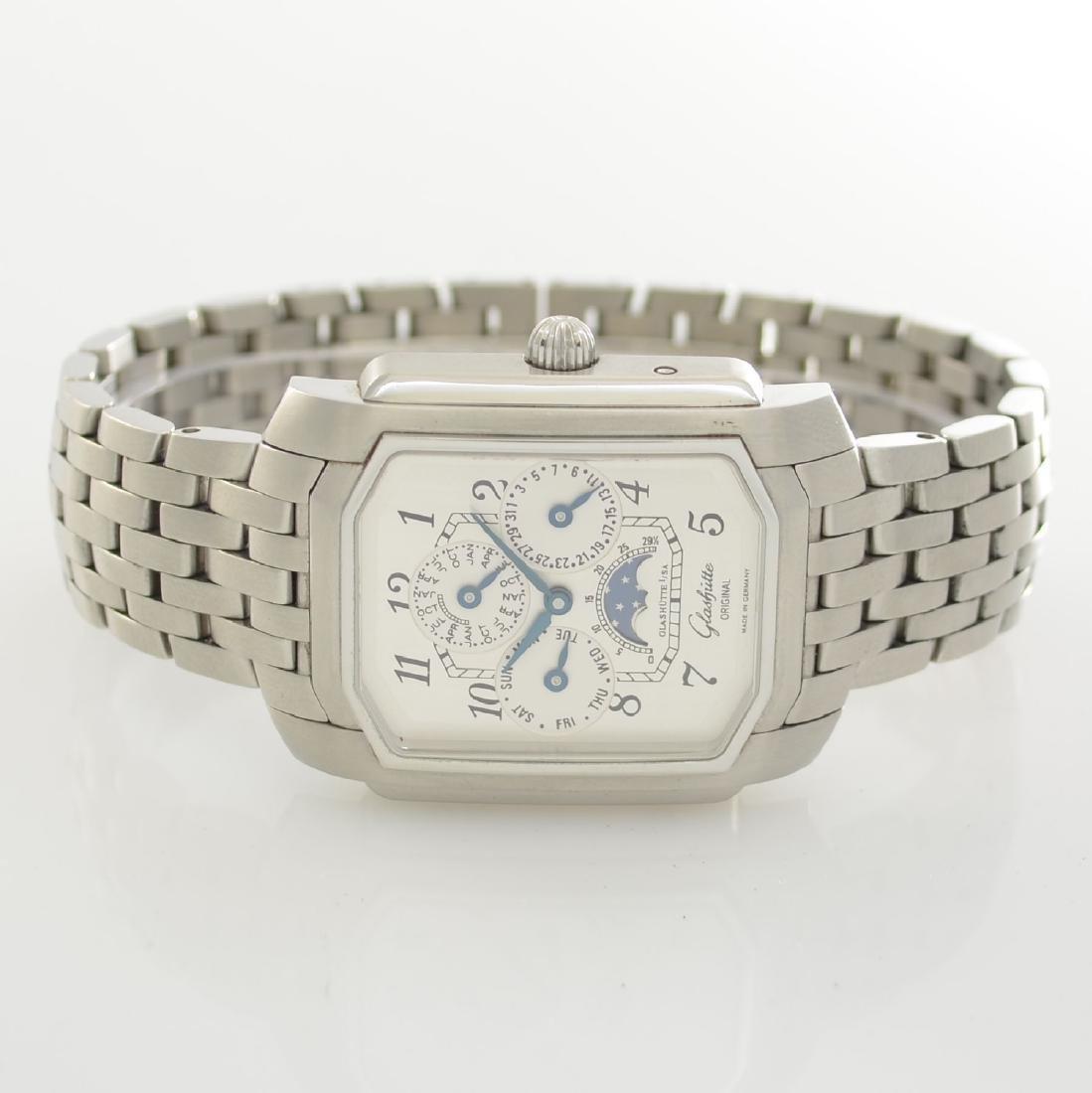 GLASHUTTE ORIGINAL astronomical gents wristwatch