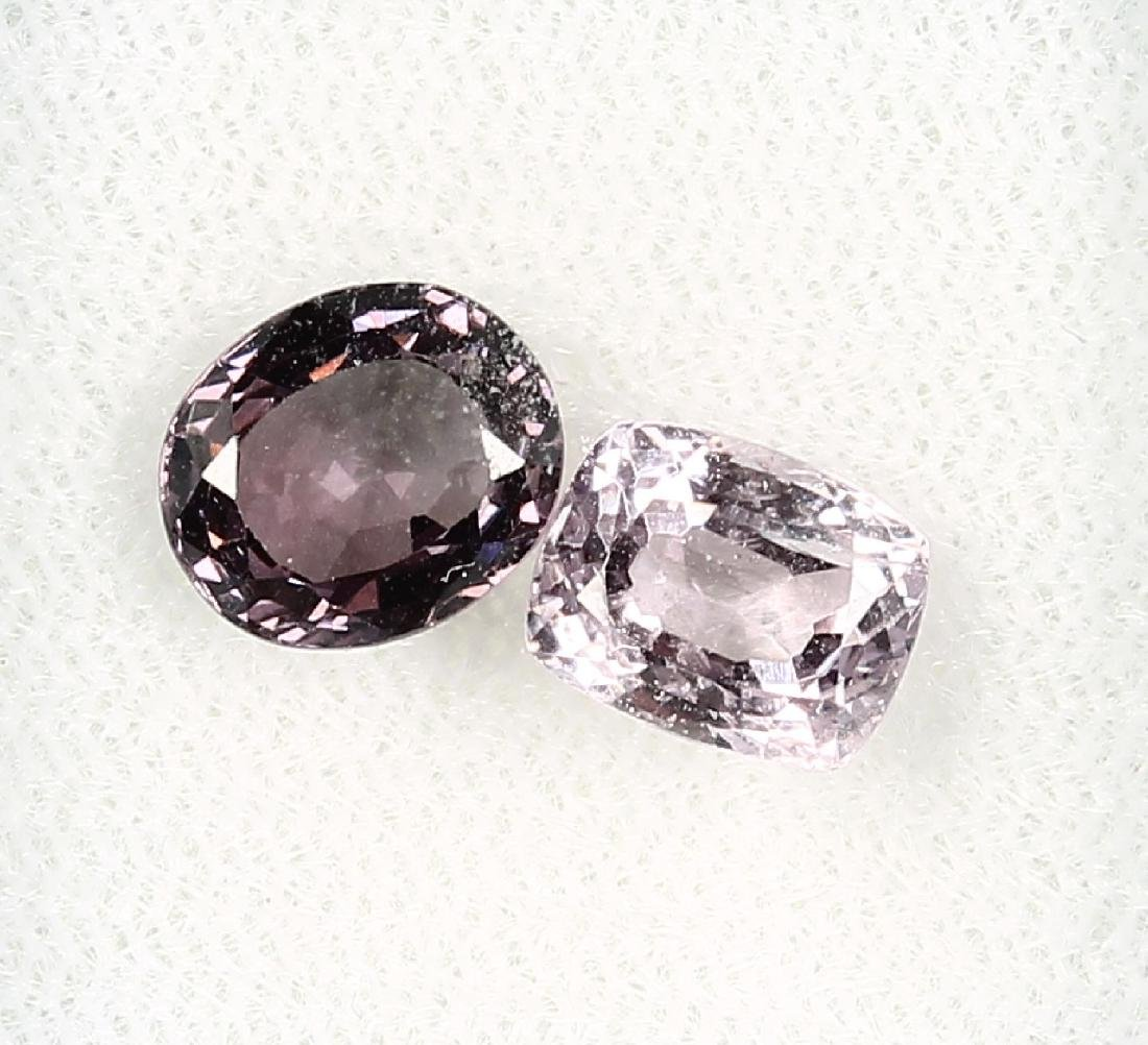 Lot 2 loose spinels