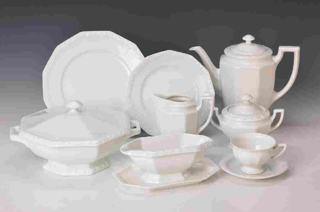 extensive Set, Mary white, Rosenthal, 2 pots, milk jug