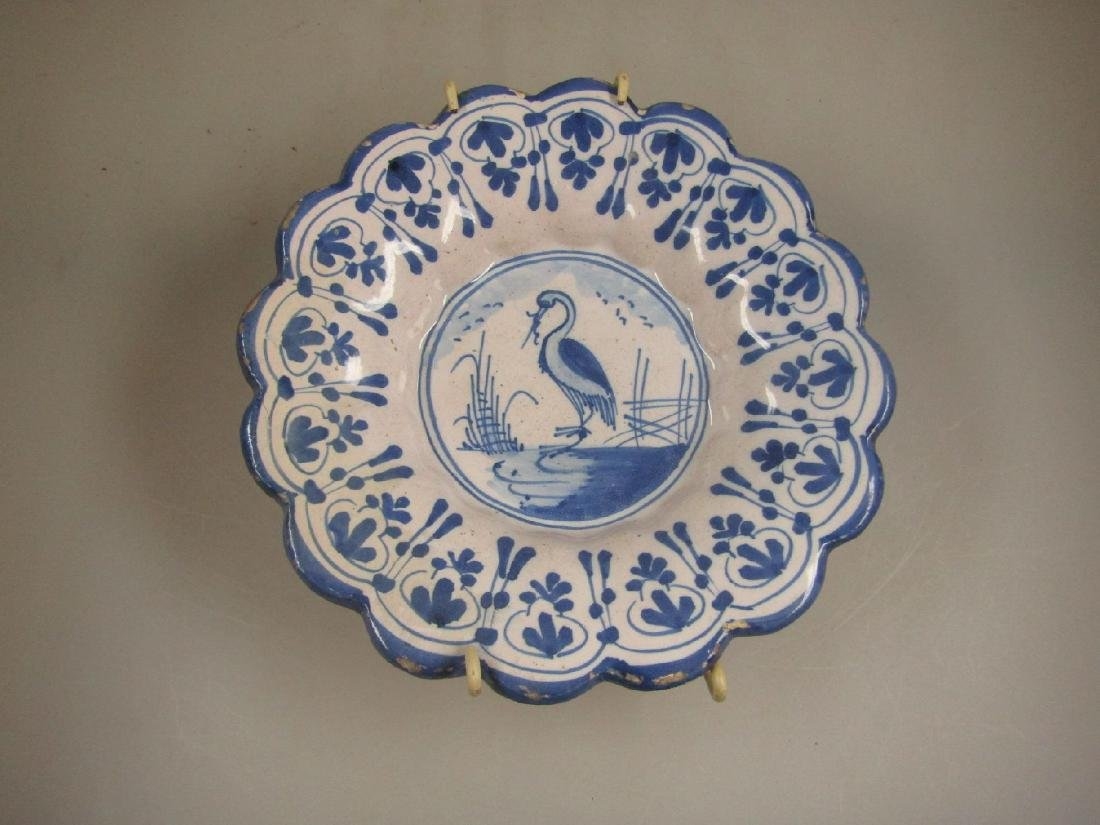 plate, probably Hanau, around 1720-30, faience - 2