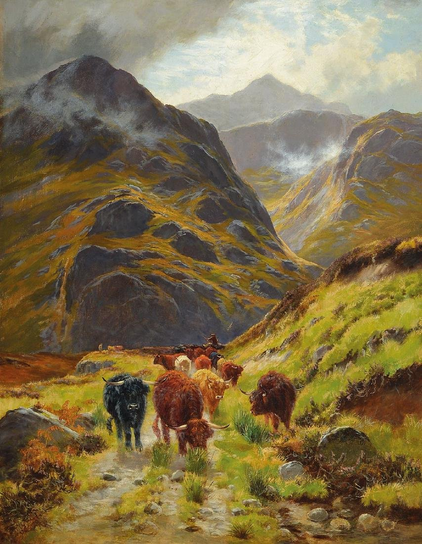 Unknown painter of the Scottish school, 2nd half of the