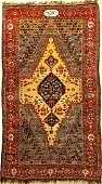 Rare Yellow Ground Bakhtiari 'Kelley-Carpet' (With