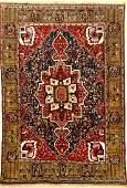 Rare Fine Abadeh Rug,
