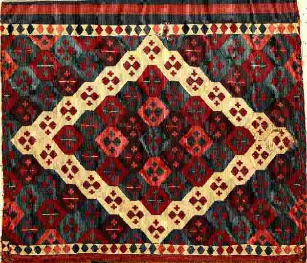Fine 'Part-Silk' East Anatolian 'Heybe-Bag',