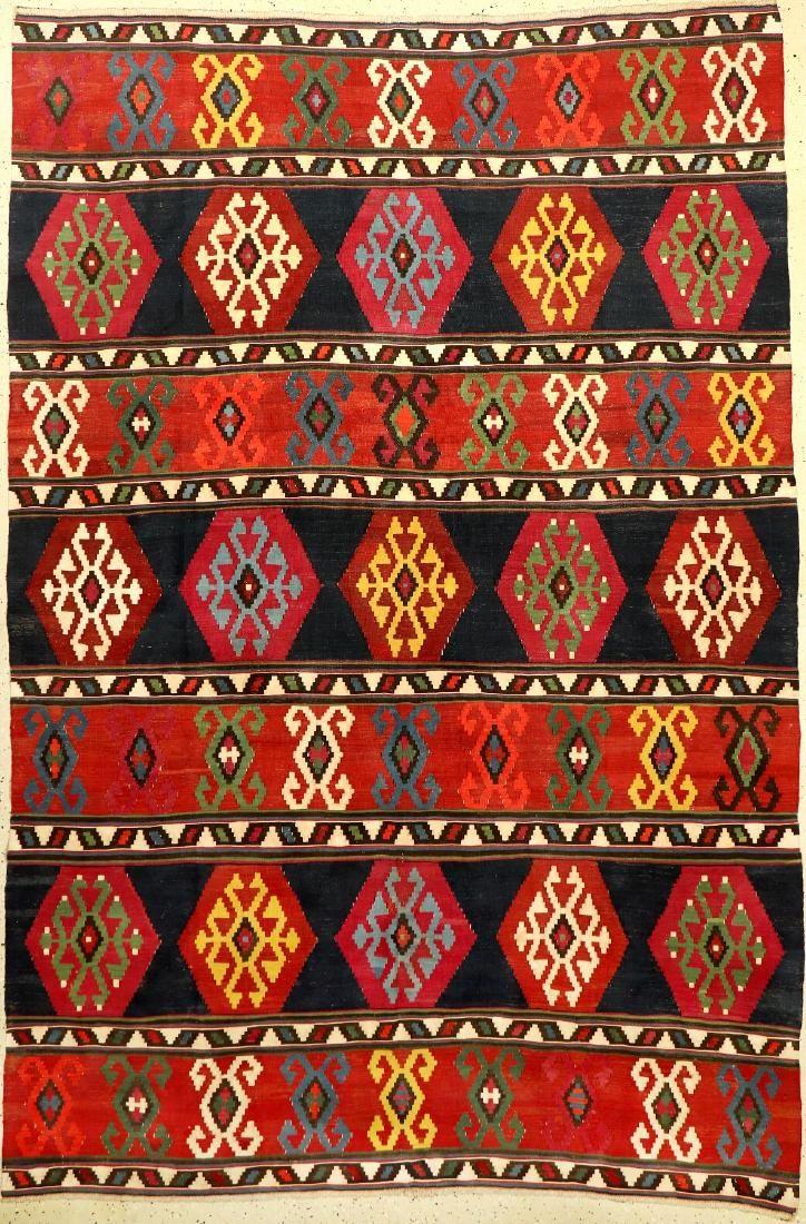 Fine 'Part-Cotton' Azeri 'Kilim',