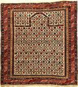 Fine White Ground Shirvan Prayer Rug