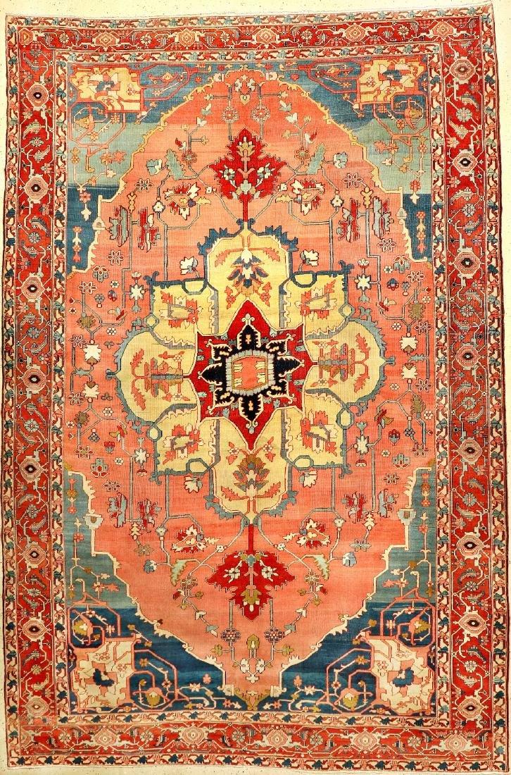 Large Fine & Unique Heriz 'Serapi' Carpet,
