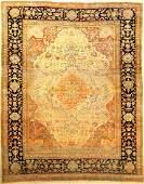 Fine Kurk Kashan 'Mohtascham' Carpet,