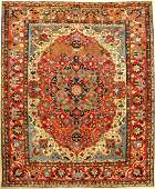 Fine & Rare Isfahan 'Ahmad' Carpet,