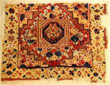 Central Anatolian 'Ghirlando-Style' Rug (Fragment),