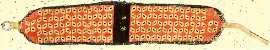 Rare Tibetan 'Animal Head-Jewelry' (Tiger Pattern),