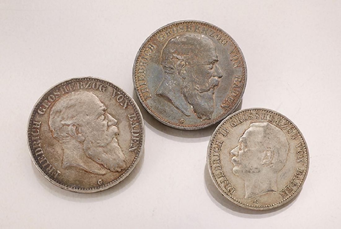 Lot 3 coins, German Reich