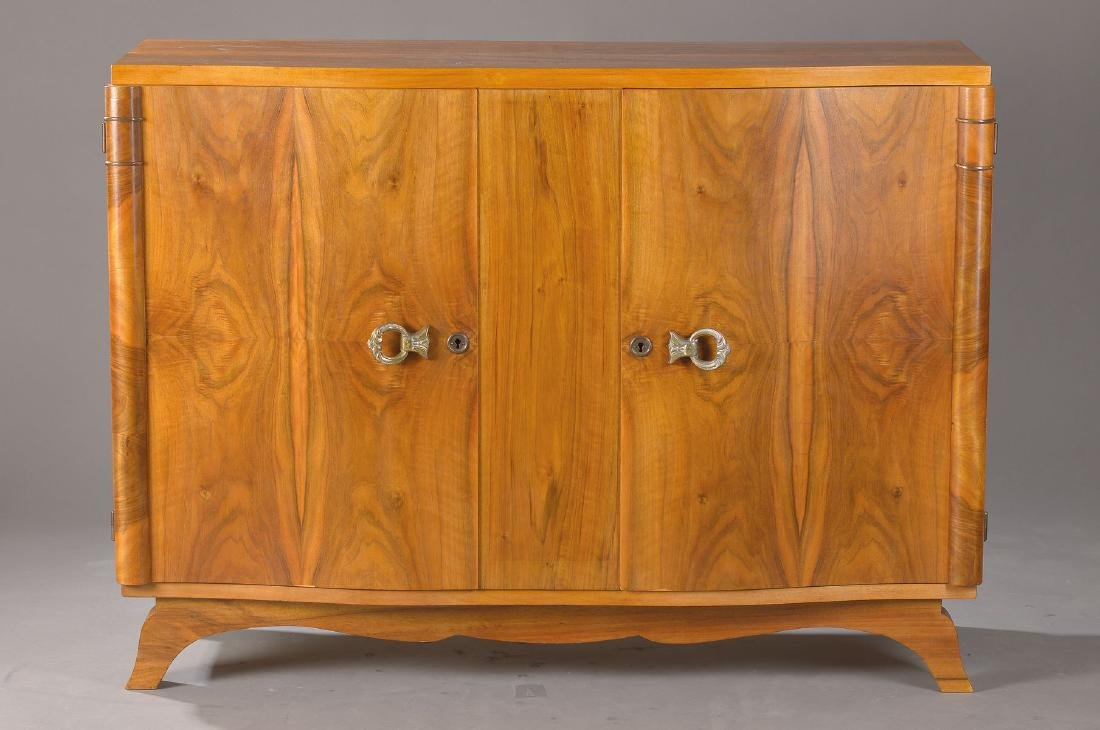 Sideboard/Half cupboard, France, around 1930, Art-Deco