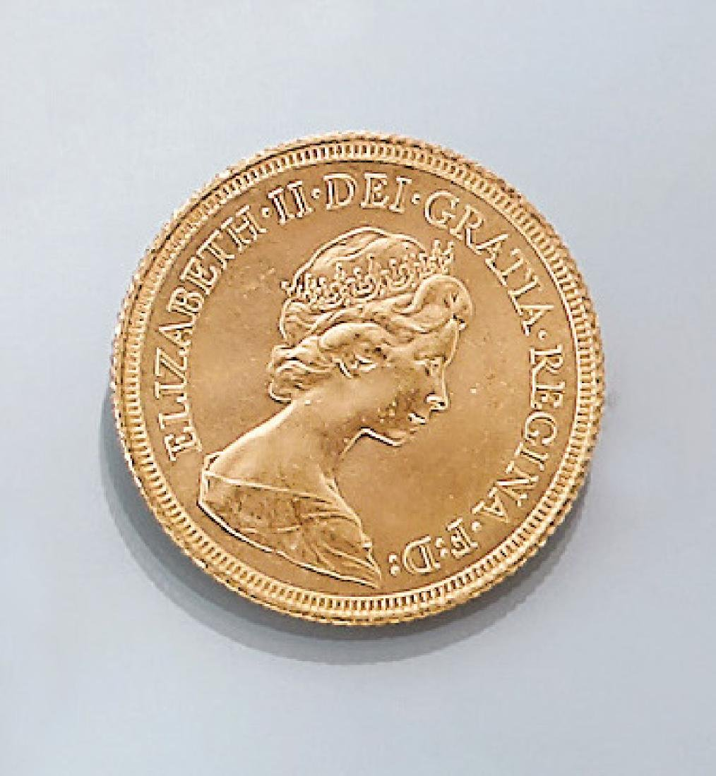 Gold coin, Sovereign, Great Britain