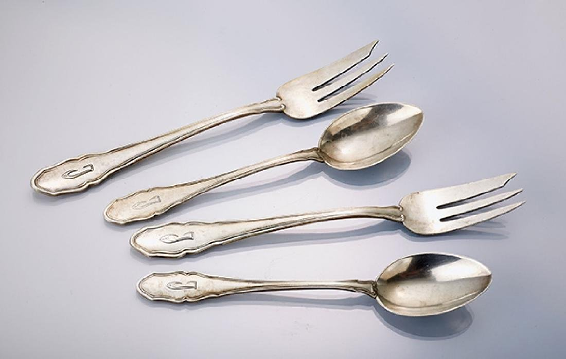 18-piece coffee cutlery, german 1930s