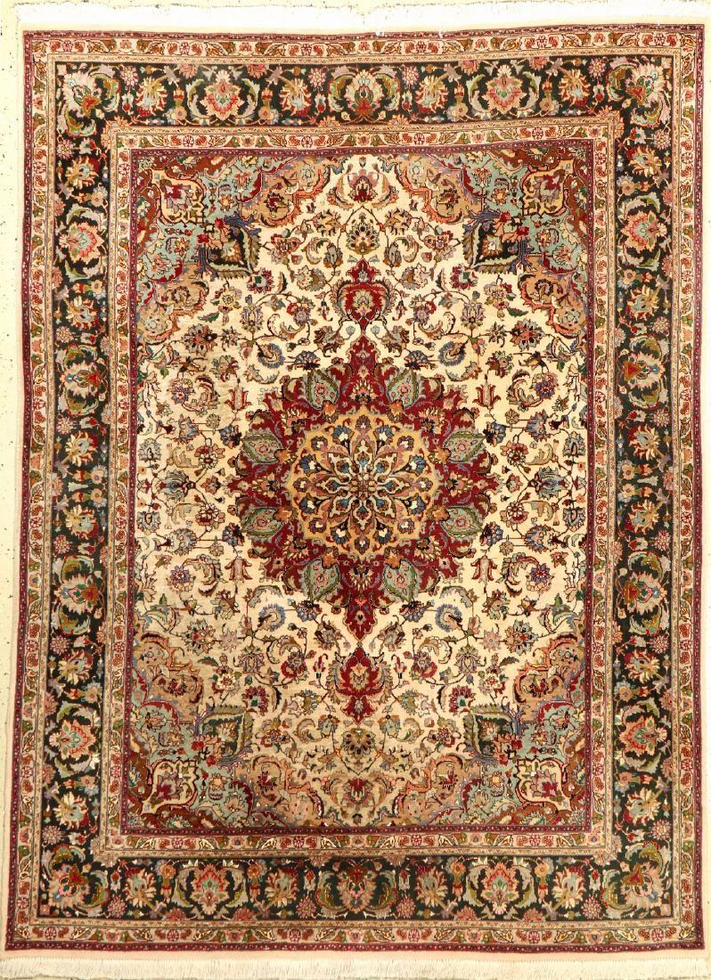 Tabriz 'Part-Silk' Rug (50 RAJ Quality),