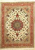 Fine Tabriz 'Part-Silk' Rug (50 RAJ Quality),