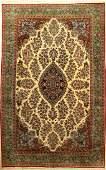 Fine Kurk Qum Carpet,