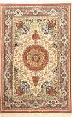 Fine Isfahan 'Eslime Nezeri Zakeri' Rug 'Signed' (Silk
