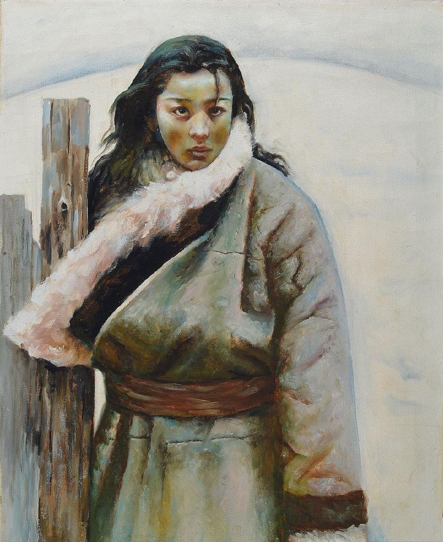 Unidentified artist the Inuit, portrait of an Inuit