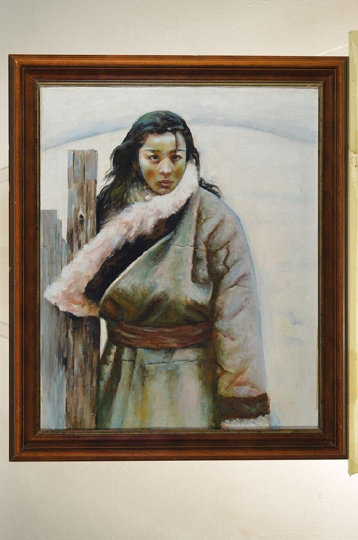 Unidentified artist the Inuit, portrait of an Inuit - 2