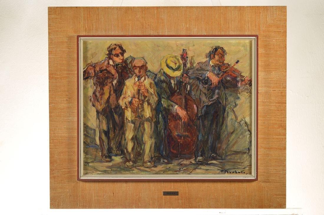 Vincento Barbato, 1866 - 1968, band, oil / painting - 3