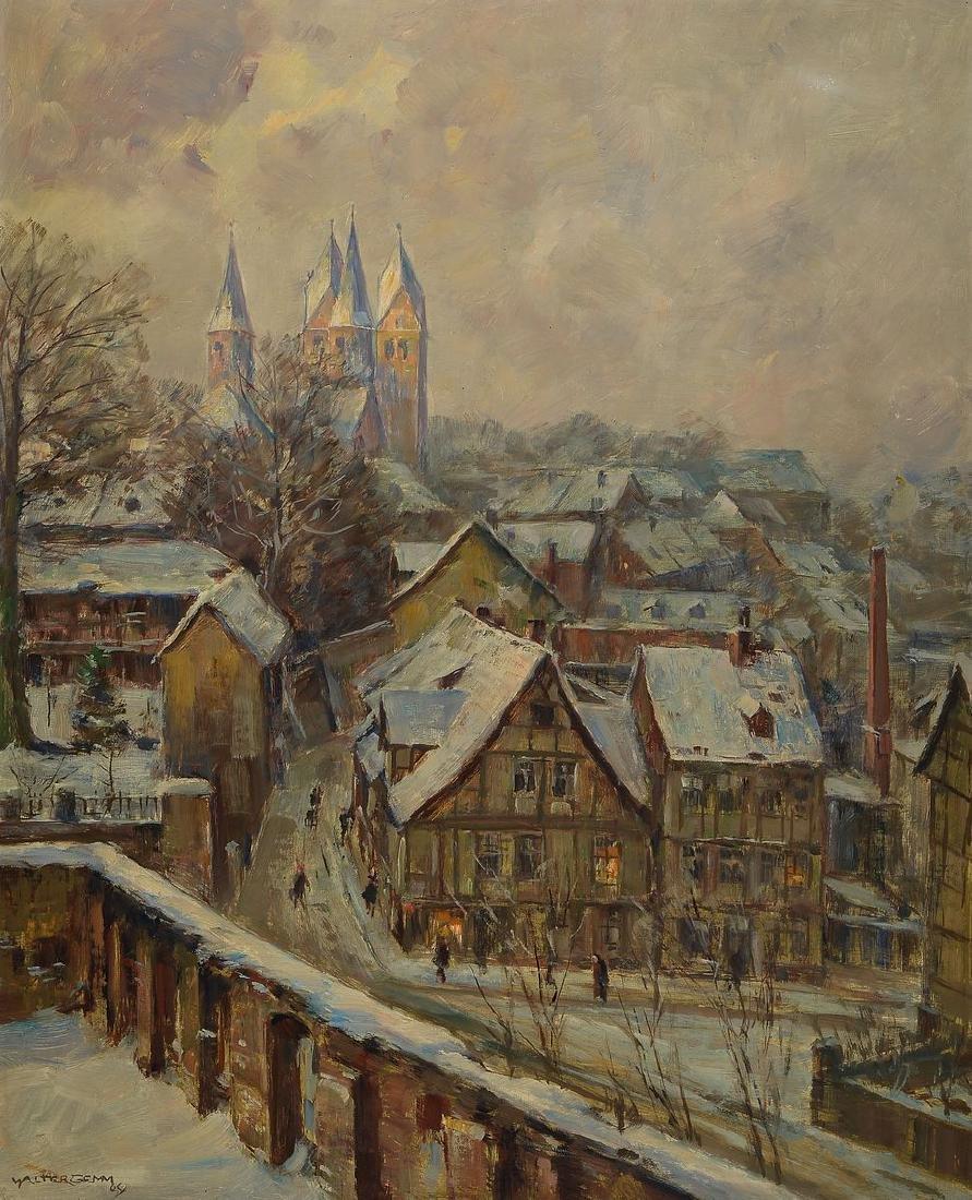 Walter Gemm, 1898 Halberstadt-1973 Osterwieck,view of