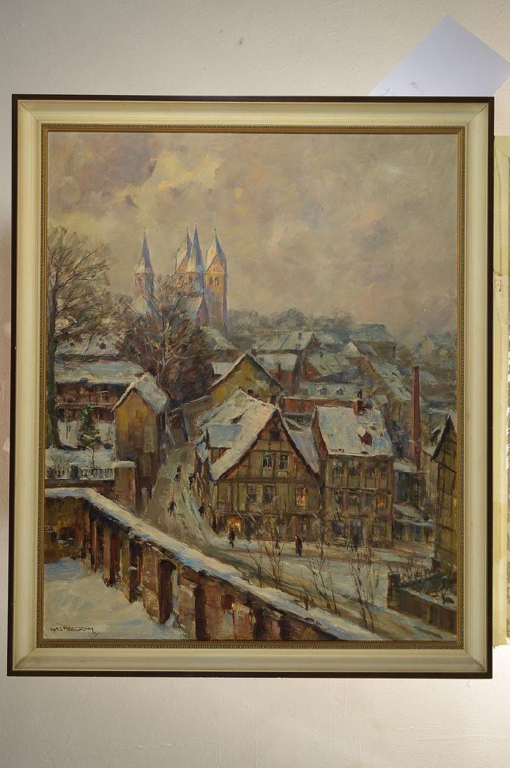 Walter Gemm, 1898 Halberstadt-1973 Osterwieck,view of - 3
