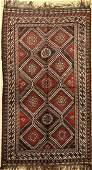Luri Rug, Persia, around 1940, wool on wool, approx.