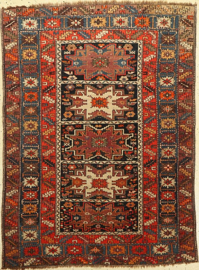 Shirvan Rug, Caucasus, around 1920, wool on wool