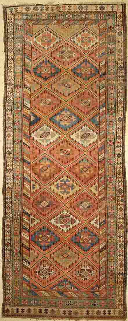 Northwest Persian Runner, Persia, around 1920, wool on