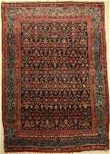 Bidjar Rug, Persia, around 1930, wool on cotton