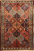 Bakhtiar rug, Persia, around 1940, wool on cotton