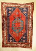 Armenian Kasak Rug, Caucasus, around 1930, wool on