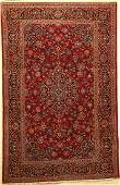 Kashan Rug Persia around 1950 wool approx 207 x