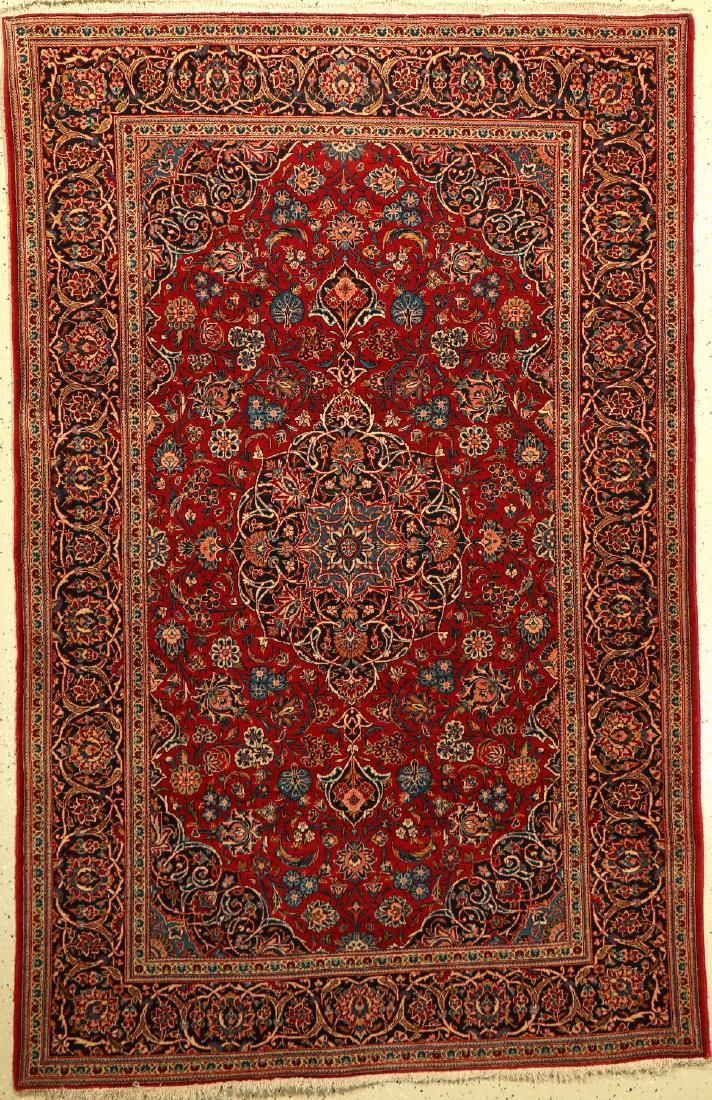 Kashan Rug, Persia, around 1950, wool, approx. 207 x